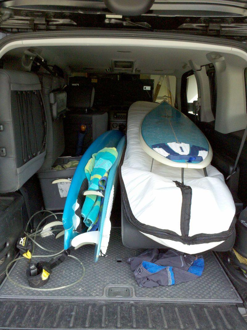 Boards in car 1